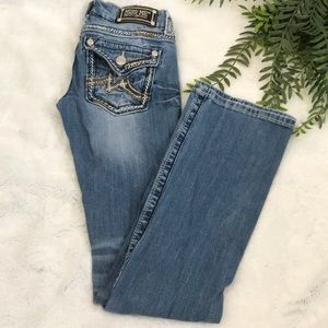Miss me medium wash bootcut denim